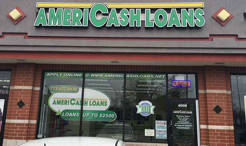 AmeriCash Loans Neighborhood Storefront Location