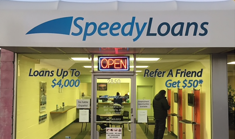 iSpeedy Loans Neighborhood Storefront Location
