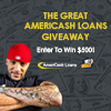 Win $500 with the Great AmeriCash Loans Giveaway Small