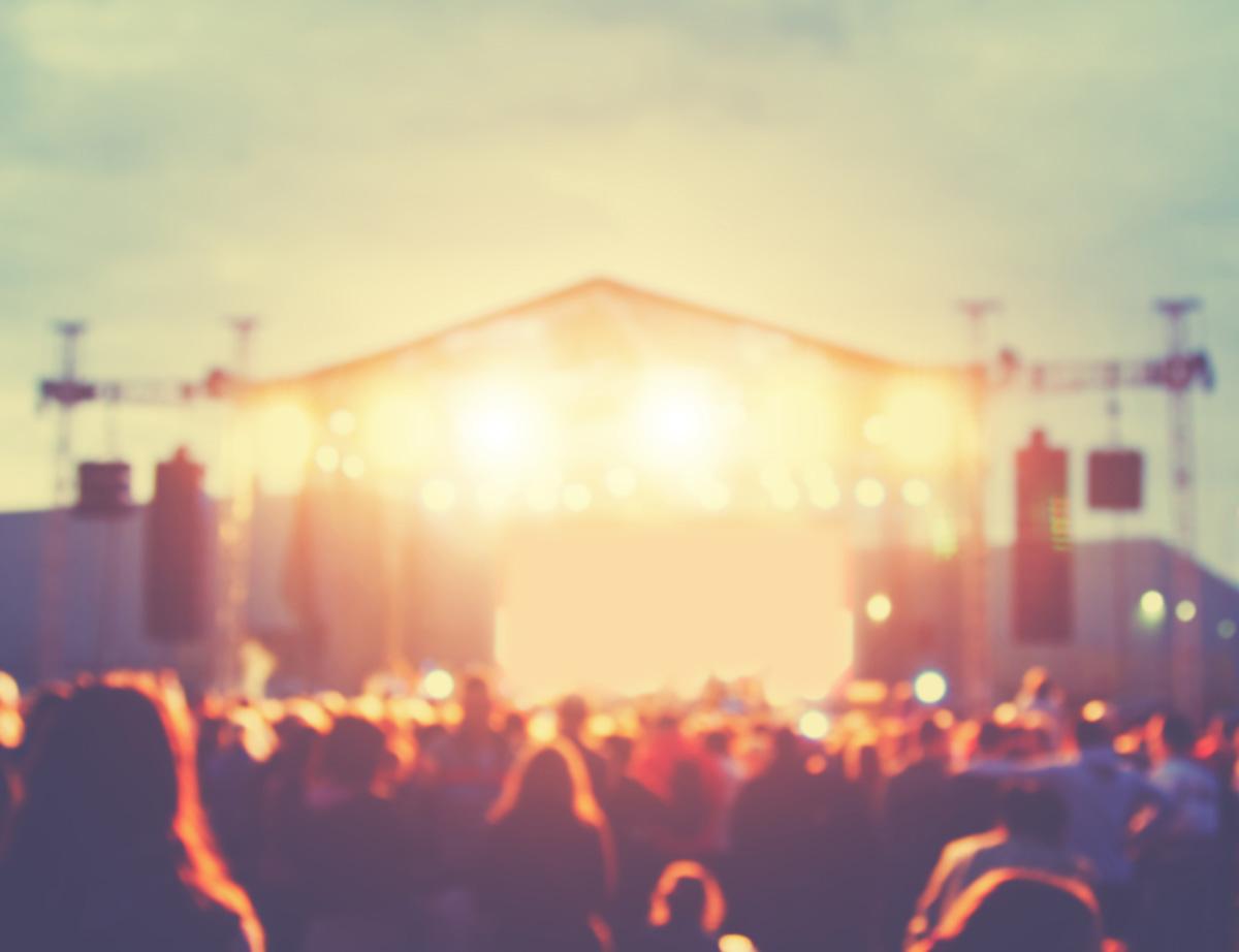 Music festival concert