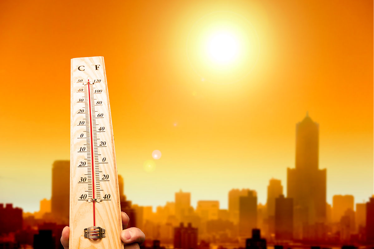 Heatwave thermometer